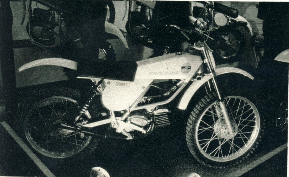 simonini 50 cross sf2 kreidler 1975-1976 piccola